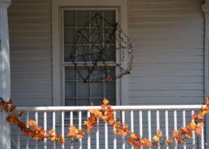 ハロウィン窓辺