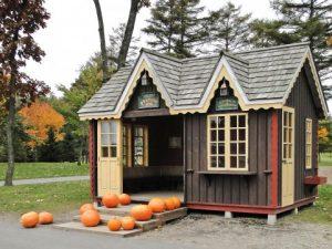 ハロウィンの家