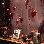 バレンタインの壁