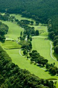 千葉山間のゴルフ場