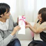 彼女から彼氏へプレゼント