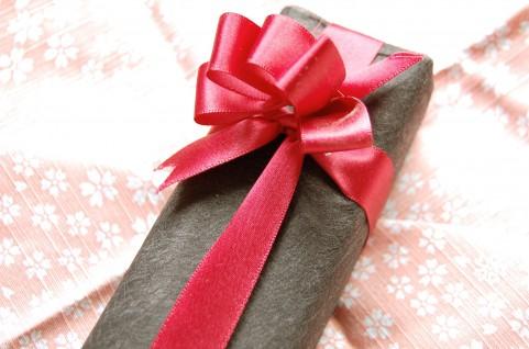 プレゼントのラッピング