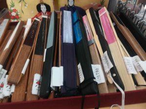 京都のお土産扇子