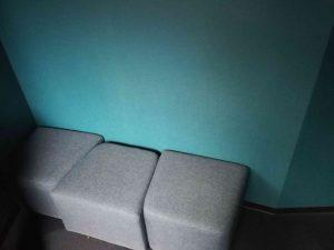 マリホ水族館の椅子